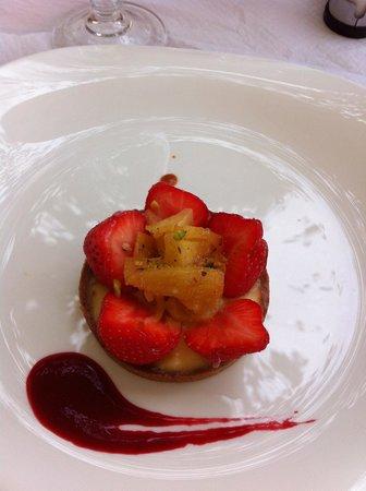 Au Palais Des Glaces: seul le dessert mérite une recommandation