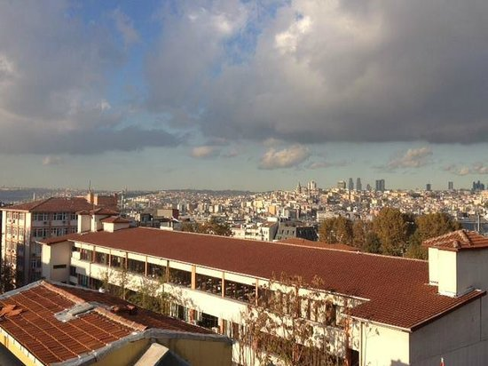 Agora Life Hotel: Beyoglu District - from the suite / rooftop terrace