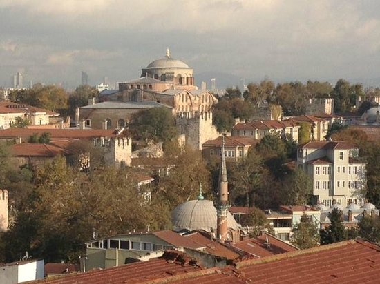 Agora Life Hotel : Saint Irene - from the suite / rooftop terrace
