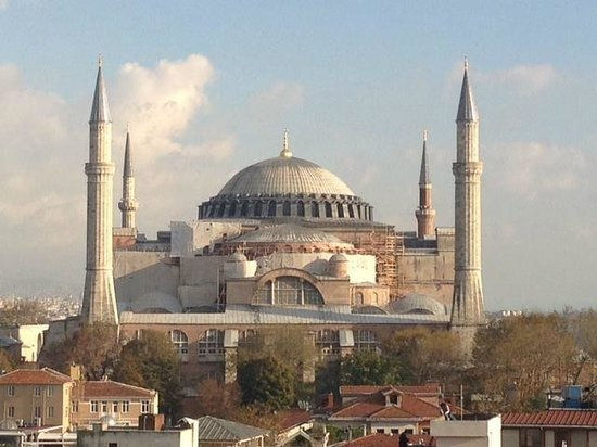 Agora Life Hotel : Aya Sophia - from the suite/rooftop terrace