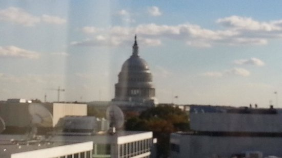 Washington Court Hotel on Capitol Hill: View from Room