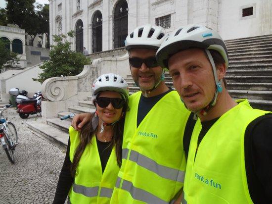 Rent a Fun - Electric Bike tours & Rentals: Um abraço Simão