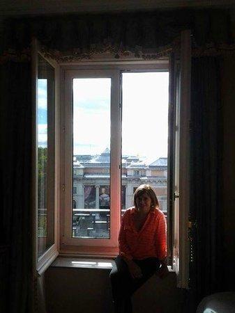 Hotel Ritz, Madrid: Vista desde la habitación. Museo del Prado.
