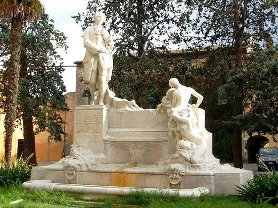 Jesi, Italy: Monumento a Giovanni Battista Pergolesi