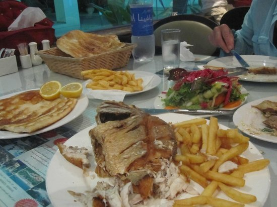 Turkish House: look at the size of the red snapper
