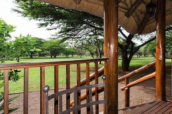 Falaza Game Park & Spa: Blick von der Restaurant-Terrasse