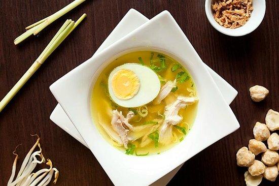 Soto ayamchicken soupPicture of JUN Indonesian Cuisine