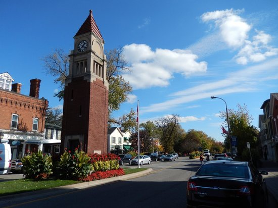 A Taste of Niagara on the Lake: The Clock Tower is in fact a cenotaph errected in 1922