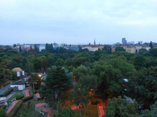 Riesenrad: Vista di Vienna