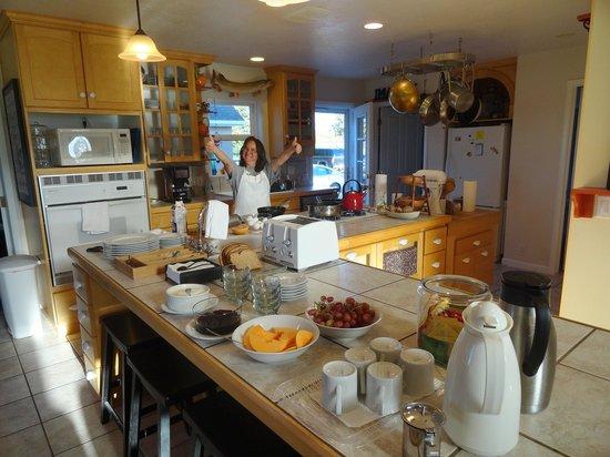 The Jensen Inn: Judith's breakfast