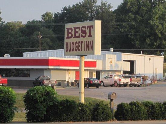 Best Budget Inn: Lage