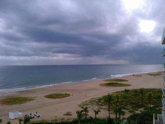 Fort Lauderdale Marriott Pompano Beach Resort & Spa : View from my room