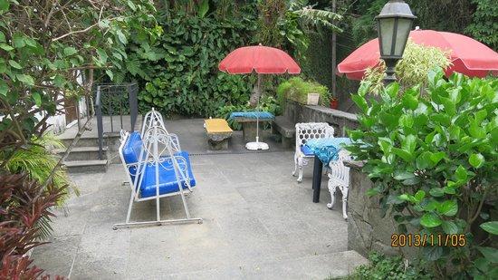 Casa Beleza: Garden view
