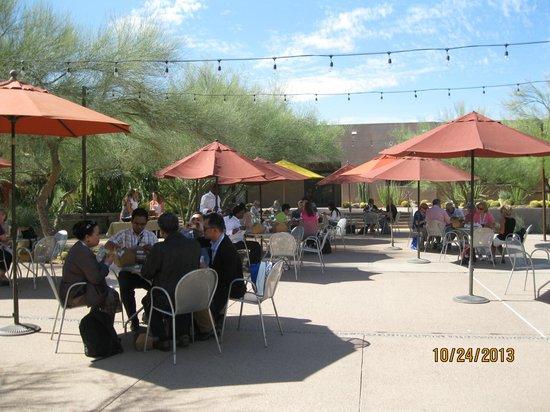Cafe At Gardens Photo De Desert Botanical Garden Phoenix Tripadvisor