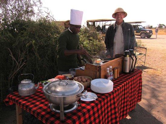 Tortilis Camp: Tortilis Bush Breakfast