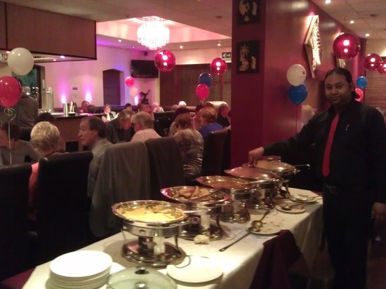 Indigo: buffet meal for charity night