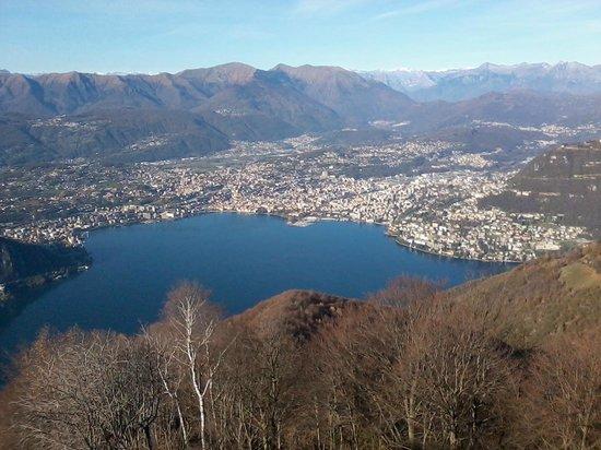 Belvedere della Sighignola: Lugano