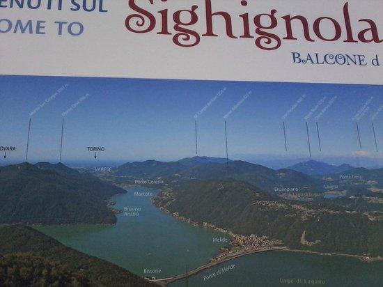 Belvedere della Sighignola: panoramica