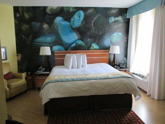 Hotel Indigo San Antonio Riverwalk: King-Size Bedroom