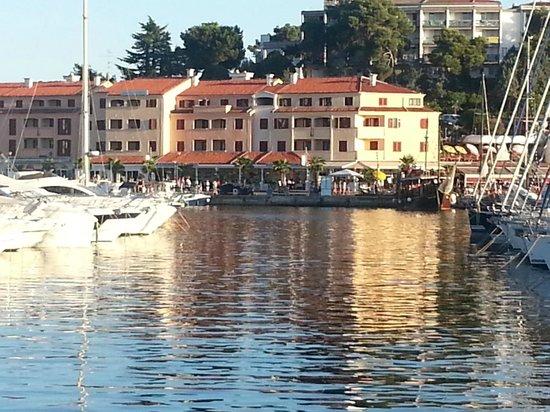 Apartments Riva: Vue de la résidence de la mer
