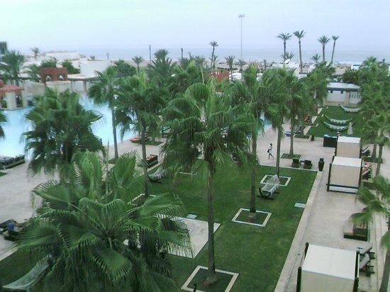 Sofitel Agadir Royal Bay Resort: View of pool from bedroom