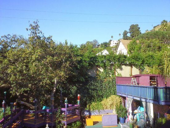 Hollywood Bed & Breakfast: view from our room