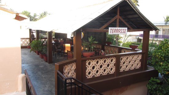 Hotel Aurore: La sala da pranzo in teerrazza