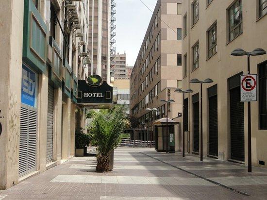 Hotel Panamericano : Ingreso por calle peatonal