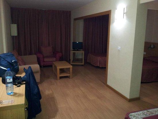 Hotel Beleret: Sala de estar