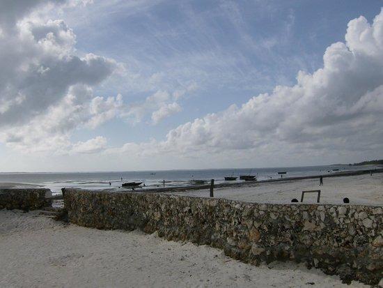 The Beach: inizio della bassa marea