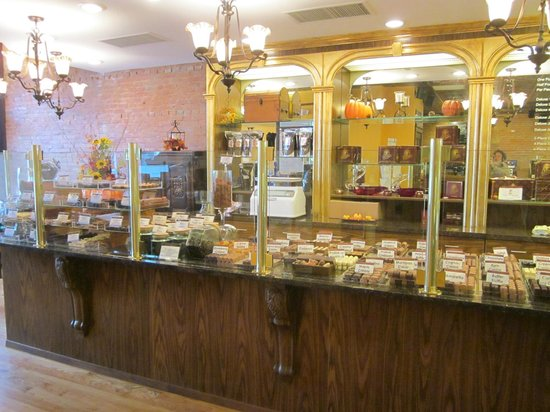 Chocolaterie Stam : A wide variety of imported European chocolates & gelato