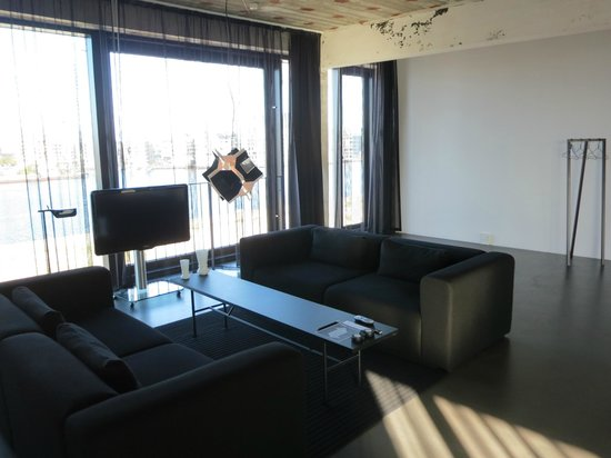 STAY Copenhagen : living room section of apartment