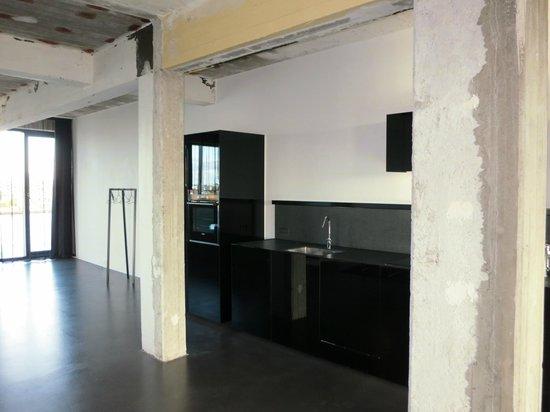 STAY Copenhagen : kitchen area of apartment