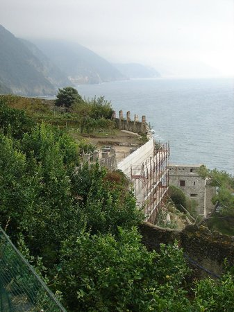 """Church of San Francesco - Capuchin Friars Monastery : vue du """"Paradis"""""""