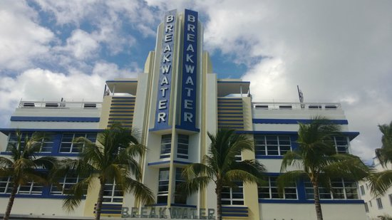 Hotel Breakwater South Beach: Сам отель