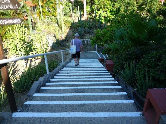 Las Brisas Huatulco : One set of stairs.
