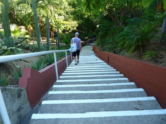 Las Brisas Huatulco : Another set of stairs.