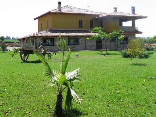 Agriturismo Il Casolare : vista esterno agriturismo immerso nel verde di un grandissimo giardino