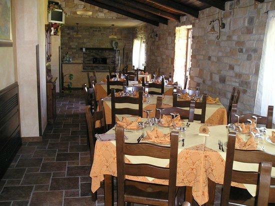 Agriturismo Il Casolare : sala interna