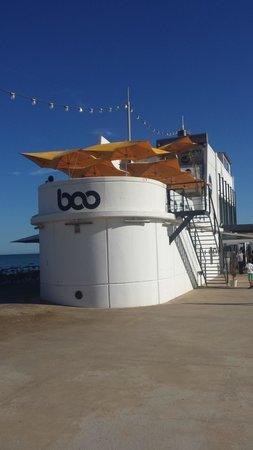 Boo Restaurant & Beach Club : The restaurant