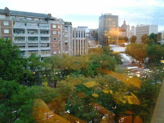 InterContinental Madrid: Vista desde la habitación