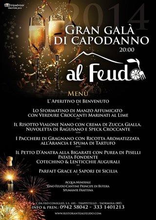 al Feudo Ristorante Pizzeria: menu di Capodanno20014