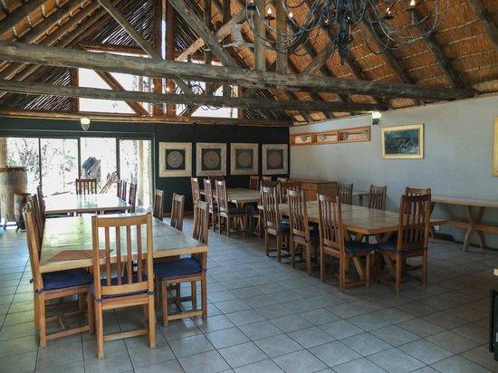 Savute Safari Lodge: Breakfast Area