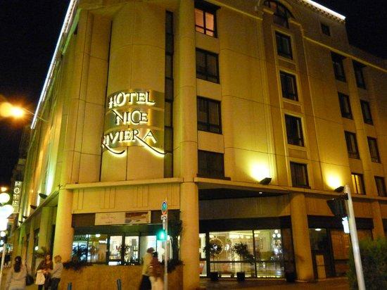 Hôtel Nice Riviera : hotel front
