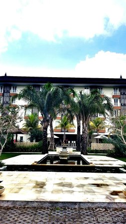 favehotel Umalas : View hotel from garden wedding