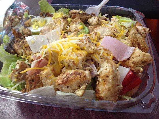 Chicken King: Grilled Chicken Salad