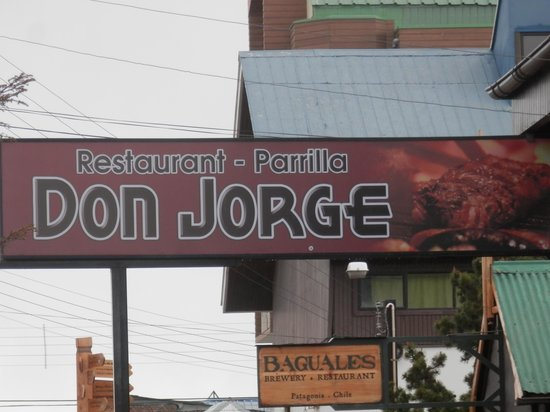 Parrilla Don Jorge: Outside off of plaza