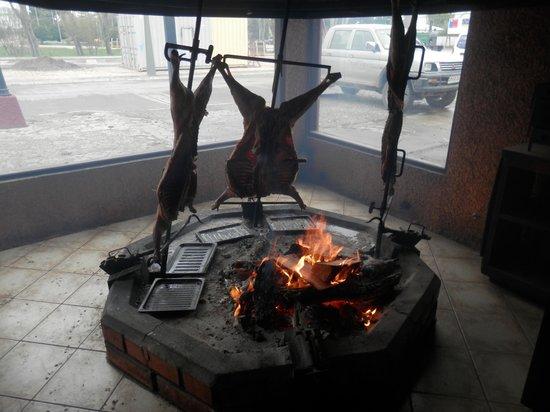 Parrilla Don Jorge: Smoke room