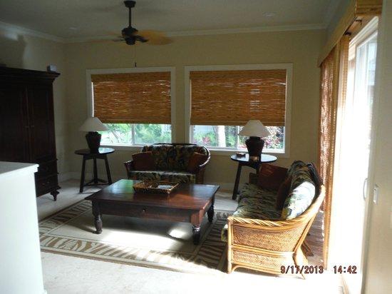 The Villas at Poipu Kai: Living Room