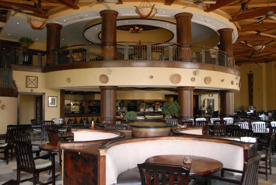 The Kingdom at Victoria Falls: The Kingdom restaurant